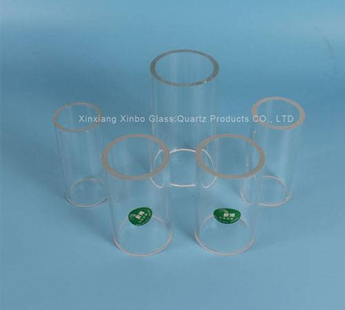 high temperature quartz glass tube