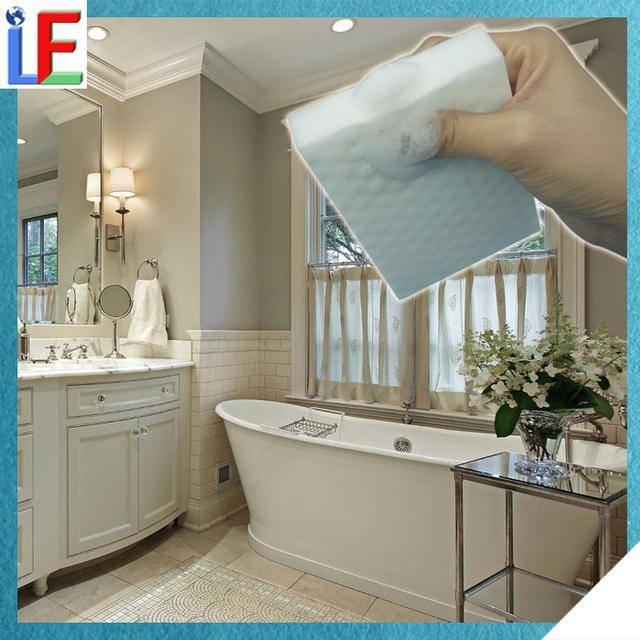 Magic Melamine Sponge For Bathroom Design Floor Tiles Magic Cleaner