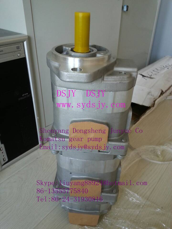 Low pressure gear pump for construction machinery