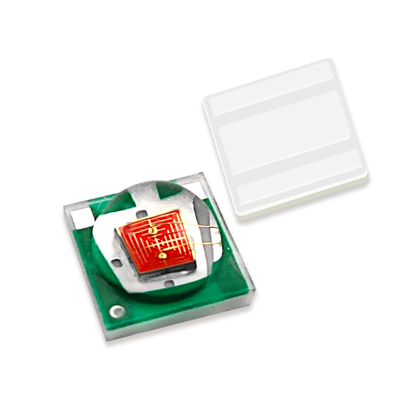 Multi colours 360-650nm red green blue amber 3535 smd led chip