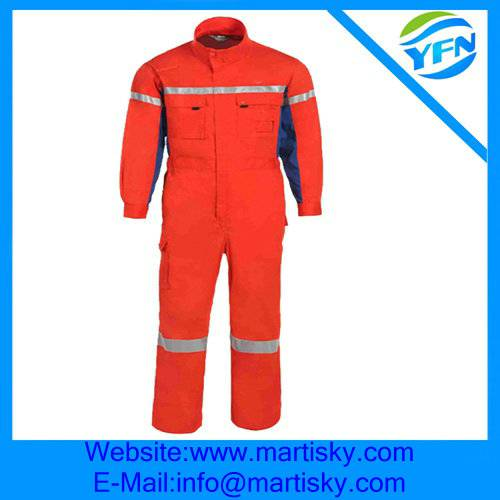 Custom Made Flame Retardant Safety Coverall Workwear