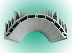 Extruded Aluminium Led Light Heatsink Profile