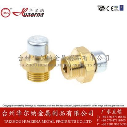 brass vent plug safety valves breather plugs vent screws bleed valve vent plugs