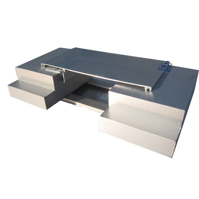 50% movement wall and ceiling expansion joint cover