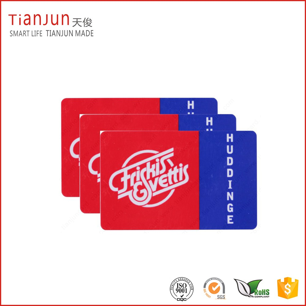 Full Color Off-set Printing Plastic 13.56 MHz F08 Chip NFC Smart Card