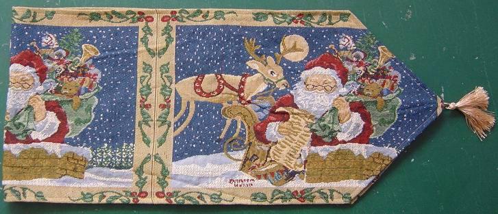 christmas table linen,table runner