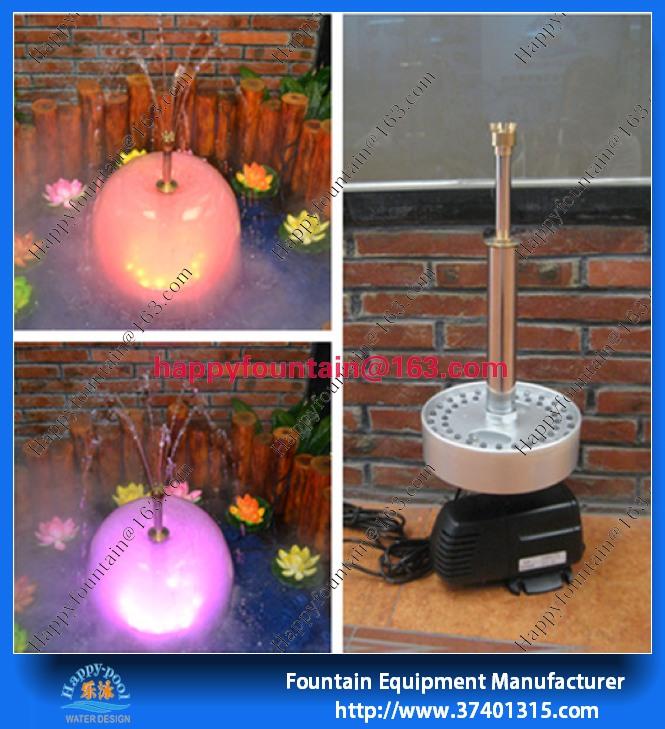 Small atomizer mushroom fountain