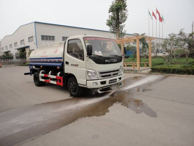 Ruvii ZJH5081GPS Watering / Sprinkling Truck Sale offer 2016
