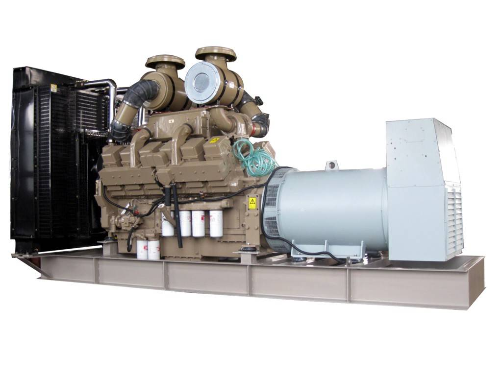 1000kw ce approved water-cooled open type cummins diesel generator