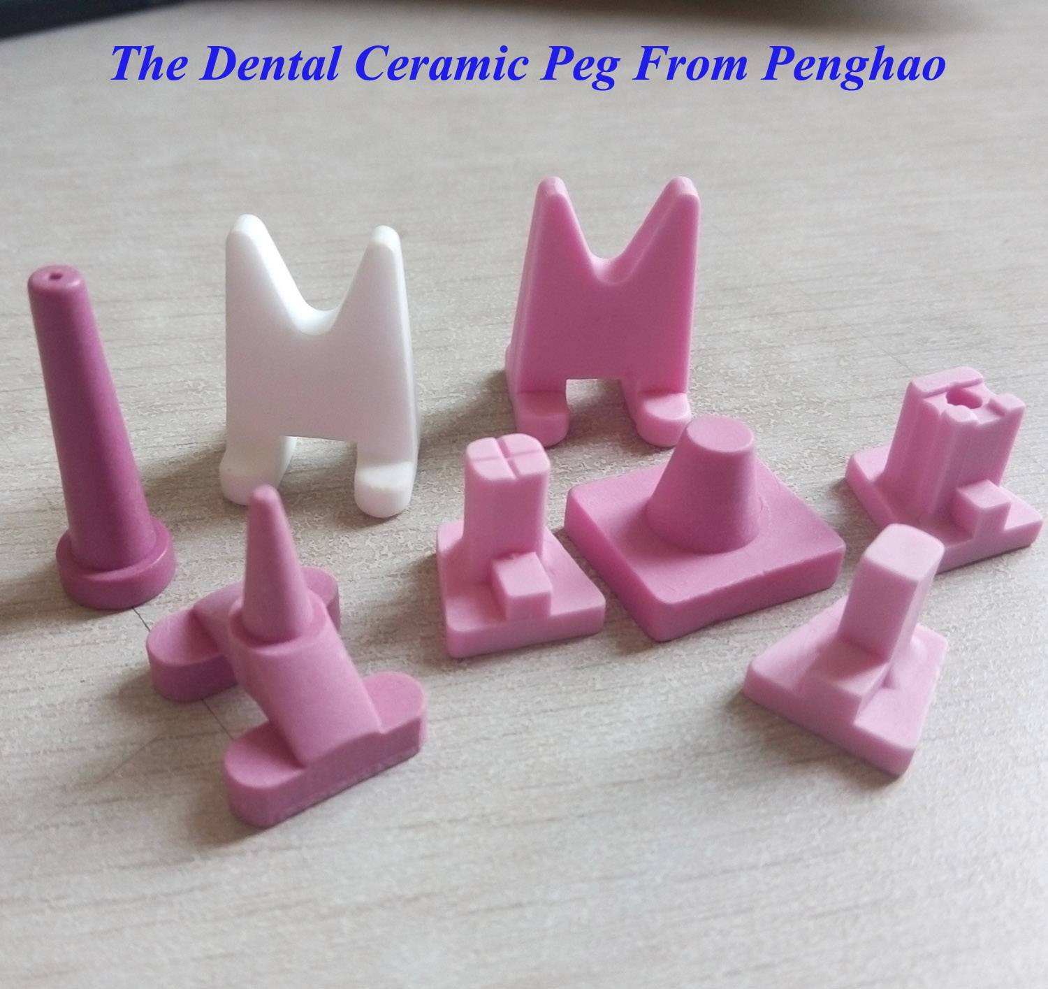 Dental Lab Ceramic Peg/ Single Pointed Teeth Burning Rack