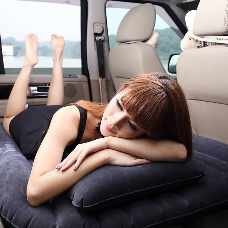 Inflatable Car Back Seat Bed