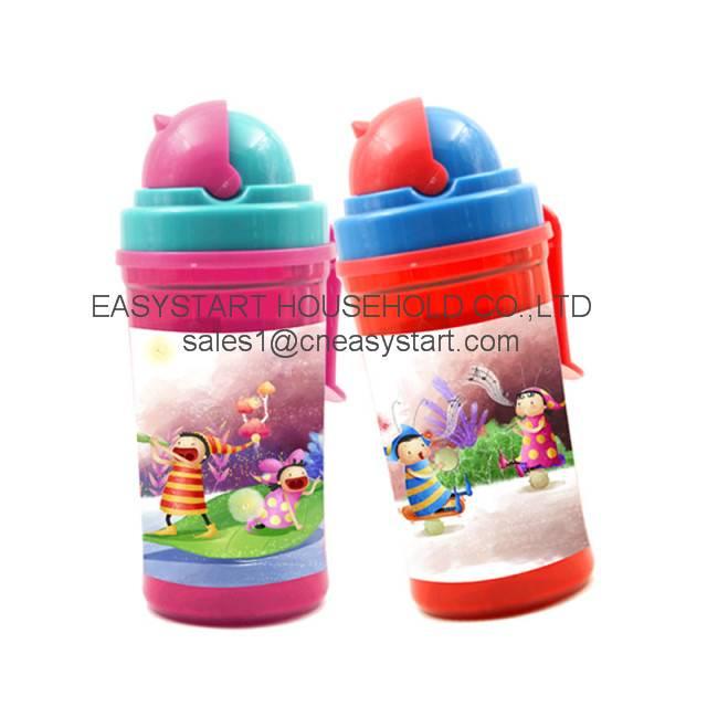 Kids Drinking Bottle, Plastic Water Bottle
