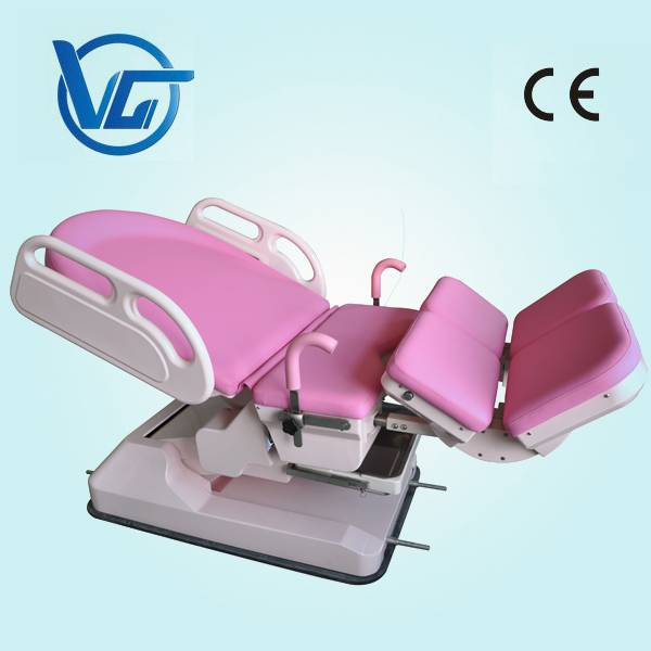 Eletronic medical bed obstetric labour table