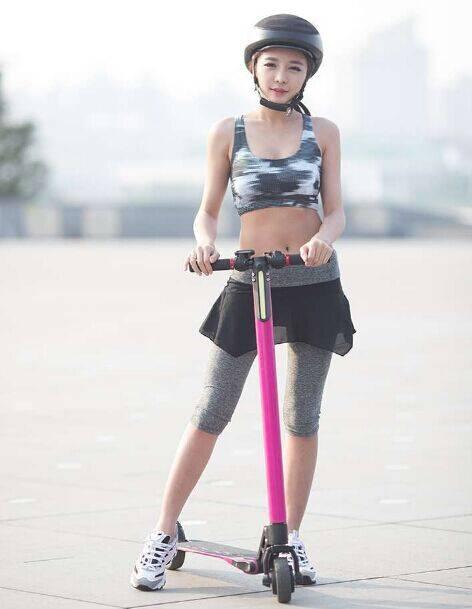 Carbon fiber kick scooter