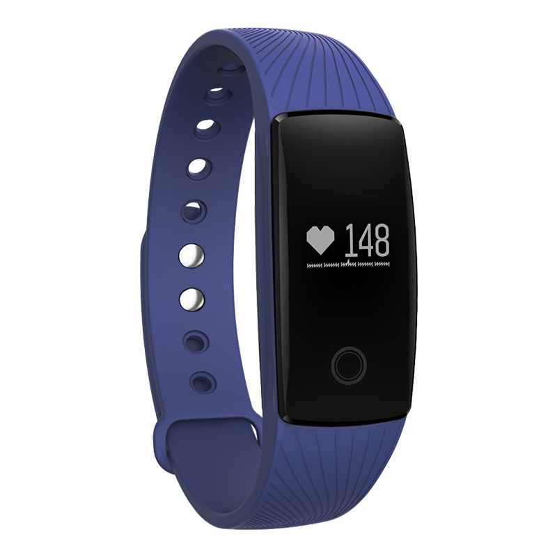 Heart rate smart bracelet pedometer sport activity tracker