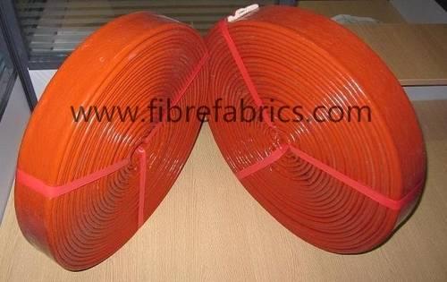Silicone Rubber Coated Fiberglass Fire Sleeve