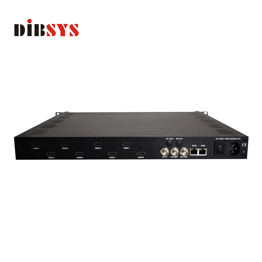 Broadcast equipment 8 HDMI MPEG-4 AVC Full HD Encoder-ENC3381