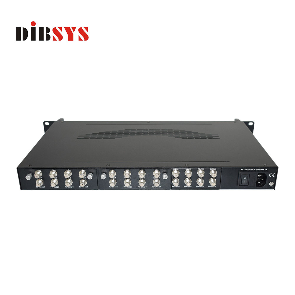12 DVB-S/S2 to DVB-C/T Transmodulator-QAM6248 PLUS