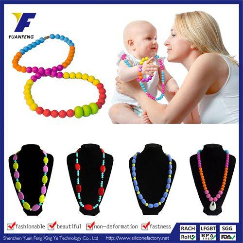 women fashion Necklace accessories gift fashion silicone necklace for promoting business