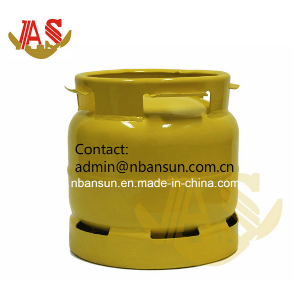 Supply High Quality Low Pressure Butane LPG Gas Cylinder, Empty 6kg LPG Cylinder, Stainless Steel Ga