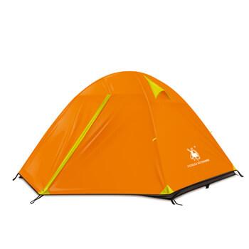 Aluminum pole adhesive edging waterproof enhanced 3 man tent H10