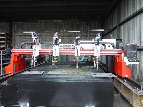 High efficiency CNC plasma flame cutting machine