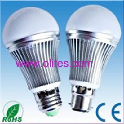 B22/E27 Socket 5W LED Bulb Light