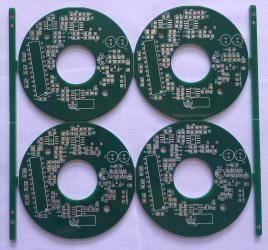 FR-4 Halogen-free ENIG 2-layer PCB