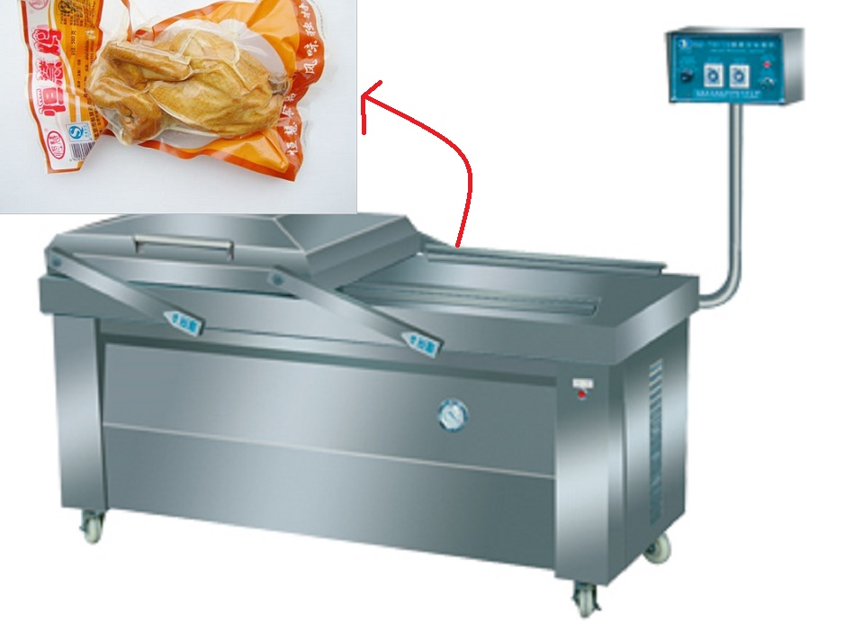Fish Fillet Outlay Electrical Vacuum Packing Machine