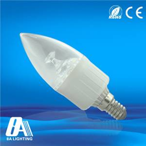 Shopping Mall LED Candle Bulbs Light Input Voltage AC90-264V