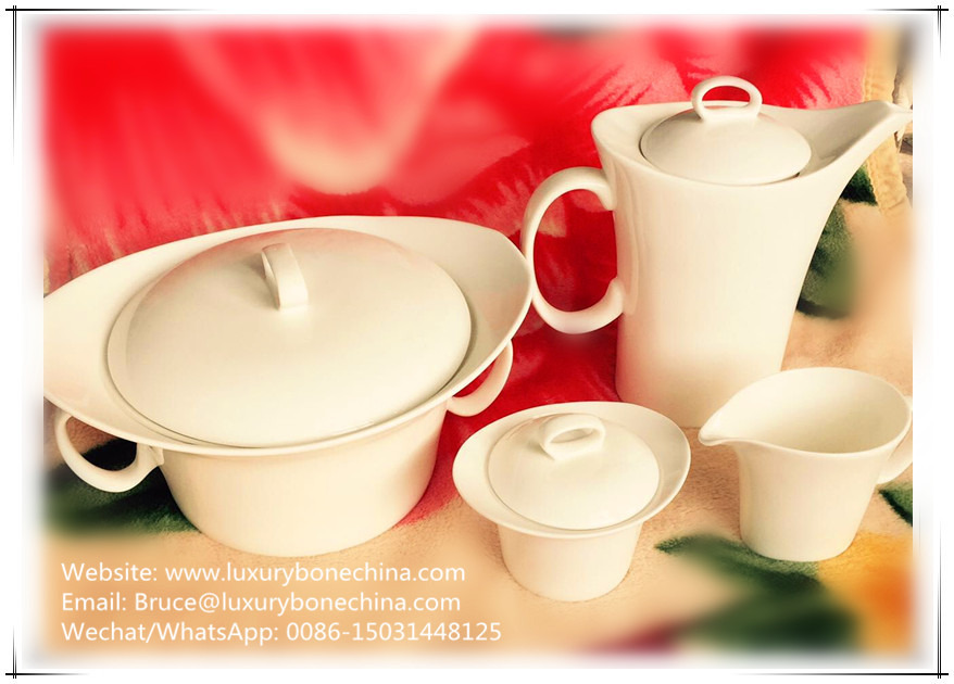 61pcs for 8 people fine bone china dinnerware dinner set
