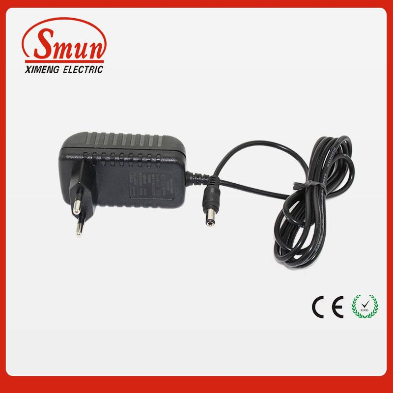 12v1a 2a 3a wall type ac/dc adapter