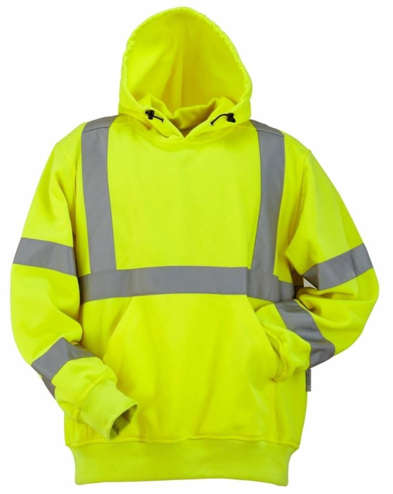 EN471 Certified High Quality Fleece Jacket With Hood