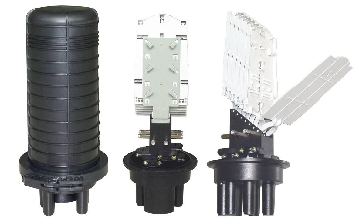 Fiber Optic Splice Closure Dome Type Heat Shrink Sealing FOSC-V5HS
