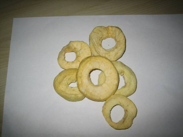 dried apple ring/apple dices