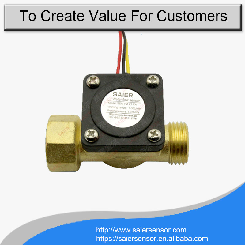 G1/2 HZ21FA water flow sensor