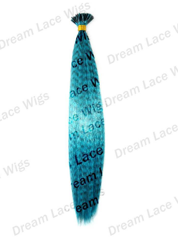 Synthectic feather extensions