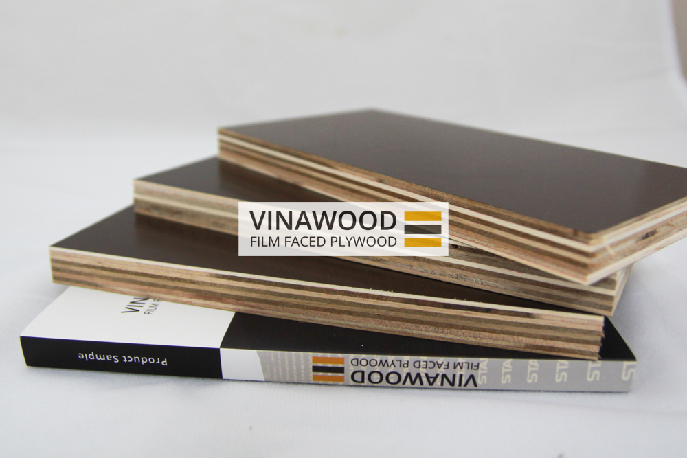 Vietnam Film Faced Plywood Construction Plywood