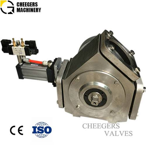 Stainless steel plug diverter valve