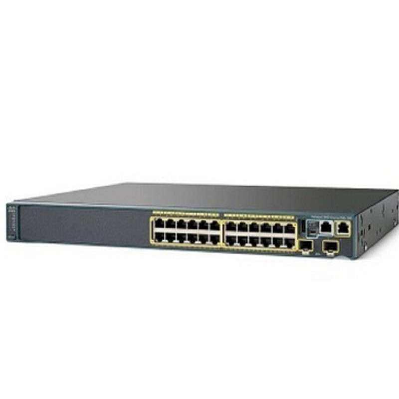 WS-C2960X-24TD-L 2960-x Series Gigabit SFP Cisco switch poe 24 port managed switch