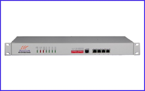 16Voice Phone plus 4Gigabit Ethernet Fiber Multiplexer