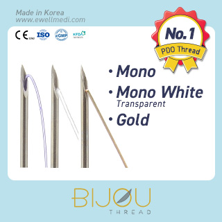 Lifting Thread Mono, Mono White, Gold (PDO)