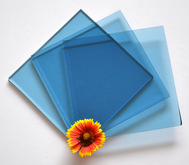 4-8mm Blue Bronze Green Grey Tinted Float Glass