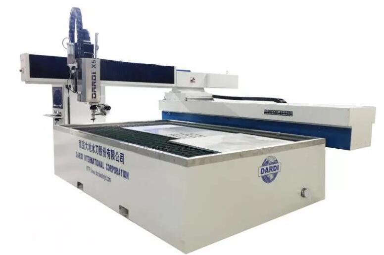 Dardi 3D 5 Axis Water Jet Cutting Machine