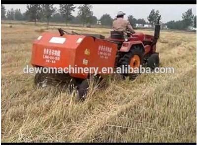 Newly design better performance hay and straw baler machine