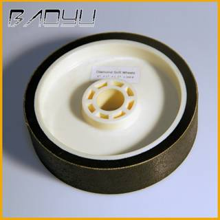 Rubber Plastic Flexible Soft Diamond Grinding Wheel