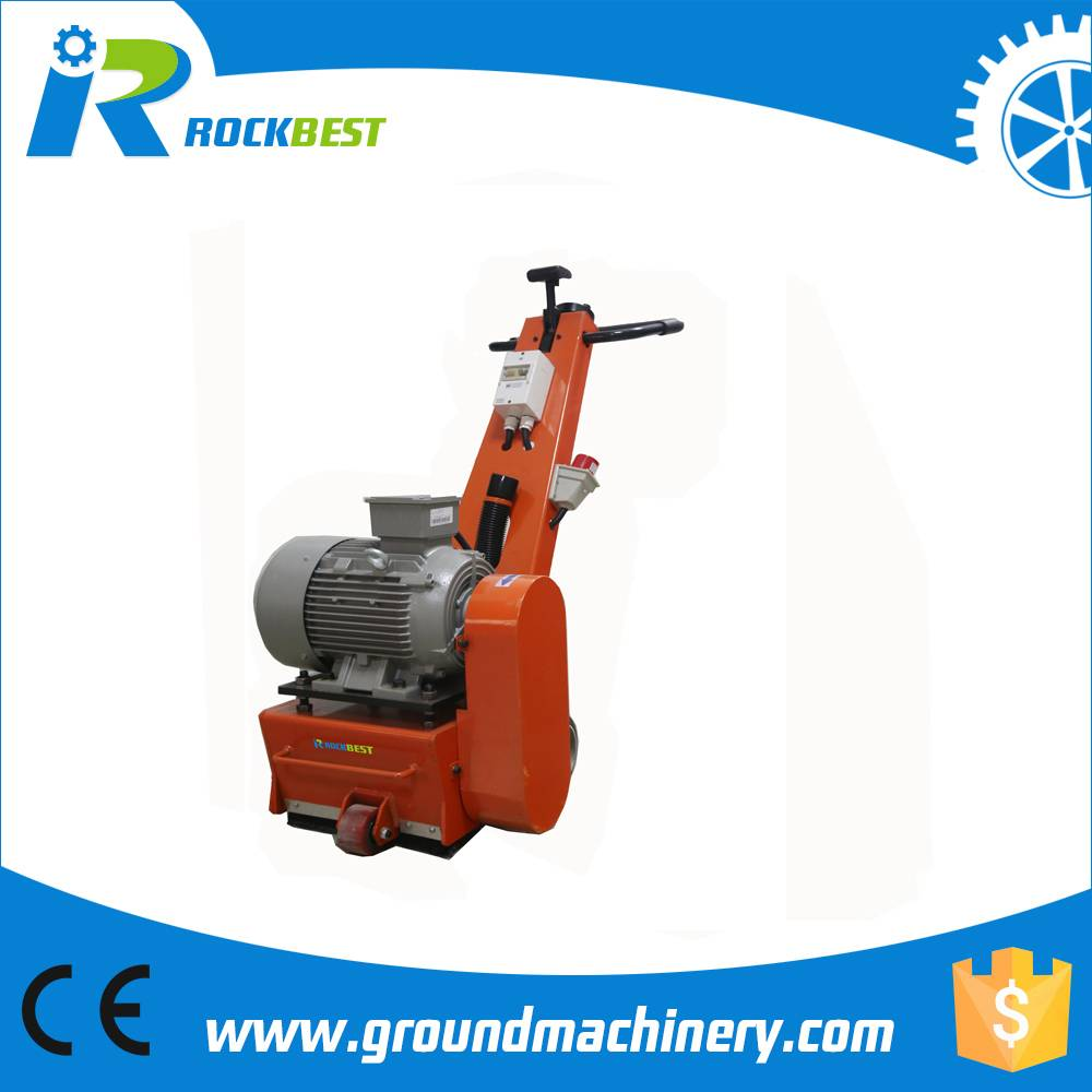 concrete scarifier for road construction