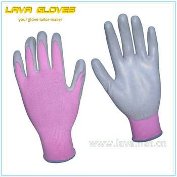 Pink Nitrile Garden Glove for Women as Atlas RB1042-6