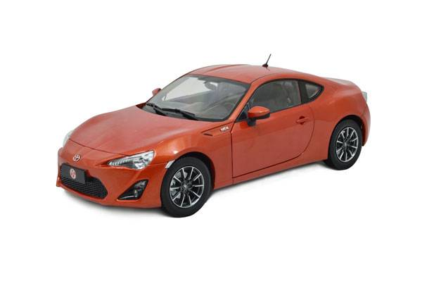 Paudi 2308OR Toyota GT86 2013 Diecast Car Models Collectable Scale Hobby Customize Cars, Personalize