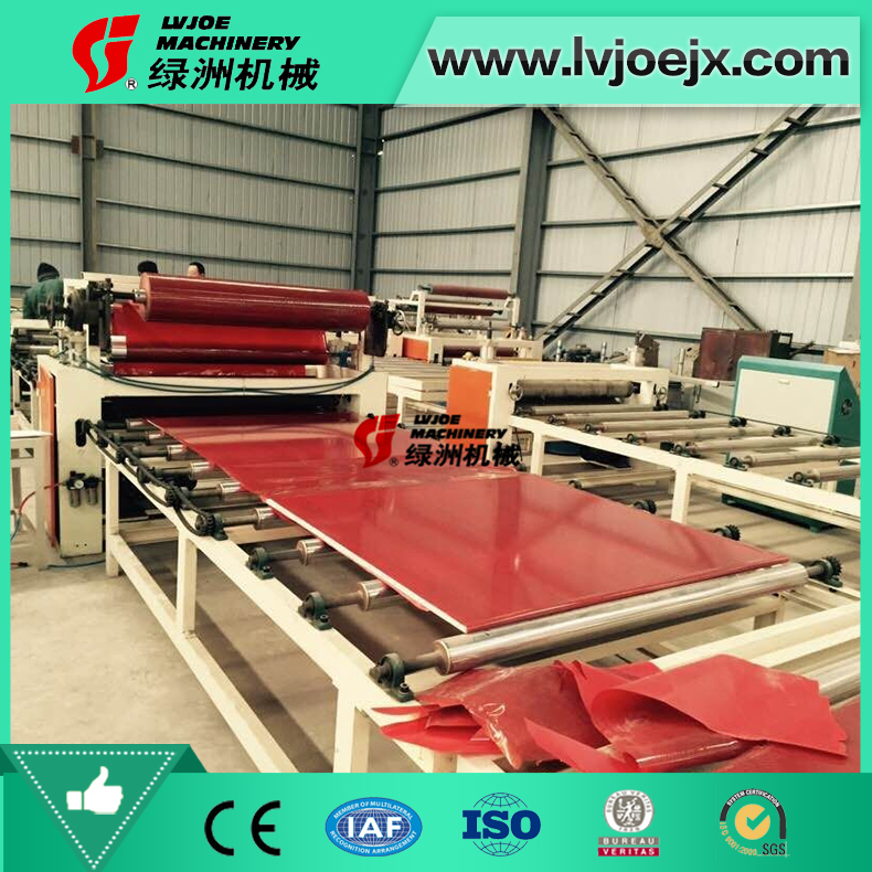 Sheetrock, PVC Foam Board Film Laminating Machine